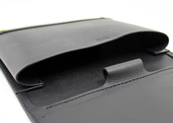 iPadノートパッドフォルダー(牛革)中身