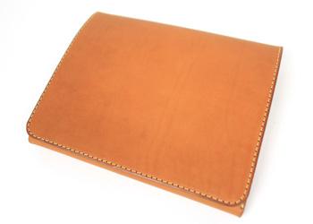 iPadノートパッドフォルダー(牛革)表