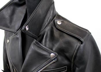 A-1型フライトジャケット(馬革)ルースホース日ミリタリーテイストならではの肩章本製