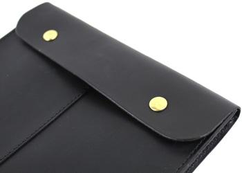 革書類ケースA4サイズ(牛革)ボタンタイプ