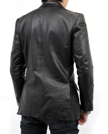 ホースオイルレザージャケット(馬革)サイドベンツ