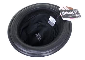 Schott(ショット)レザーハット(羊革)、裏