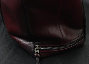 手染めトートバッグ(牛革)