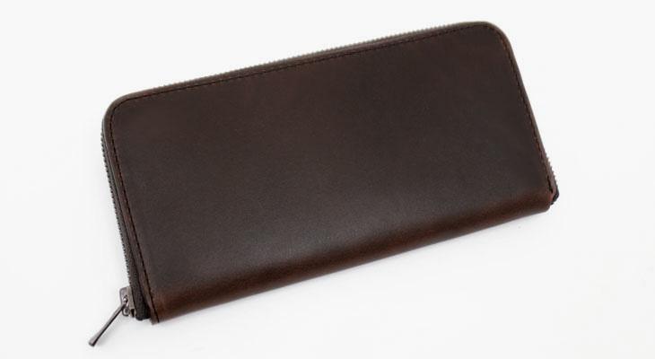 4ffbb1796e42 オイルドラティーゴレザー長財布ラウンドファスナー(牛革)|革製品専門 ...